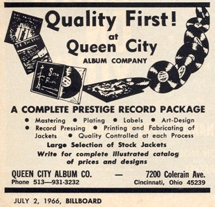 QCA - Queen City Album Co. - 1966