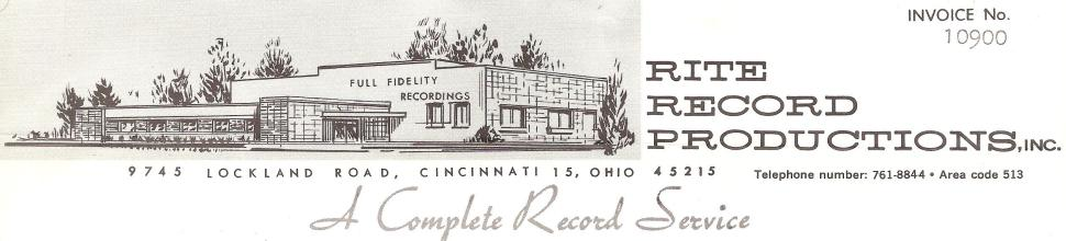 Rite Records Letterhead